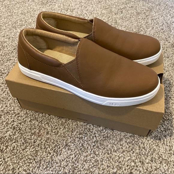 Ugg Kitlyn Slip On Leather Sneakers 95